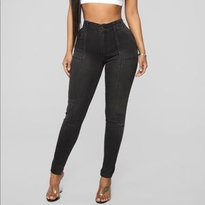 Fashion Nova Feelin' So High Skinny Jeans Size 3